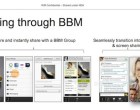 Leaked BlackBerry 10 slides show video calling and screen sharing for BBM - Image 1 of 3
