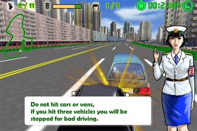 North Korea Driving Game