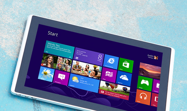 Microsoft Office Windows 8 Tablets