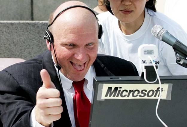 Microsoft CEO Ballmer Interview