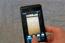 BlackBerry 10 Instagram Camera