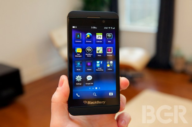 Sprint All-Touch BlackBerry