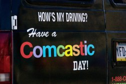 Comcast Vs. Google Fiber Facebook Post