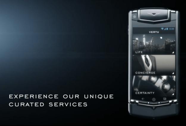Vertu Ti $10,000 Android Phone