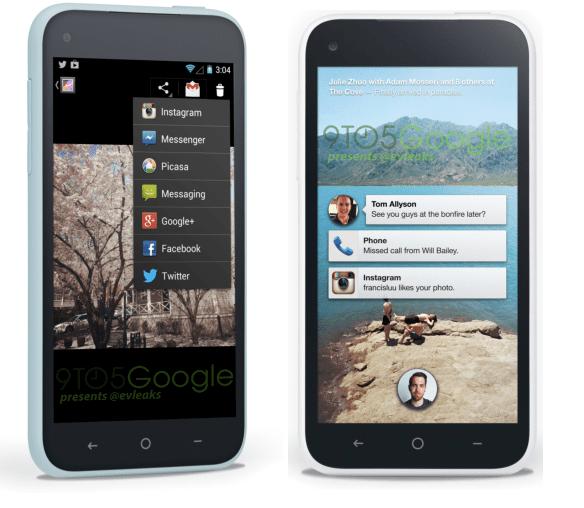Facebook First Smartphonw