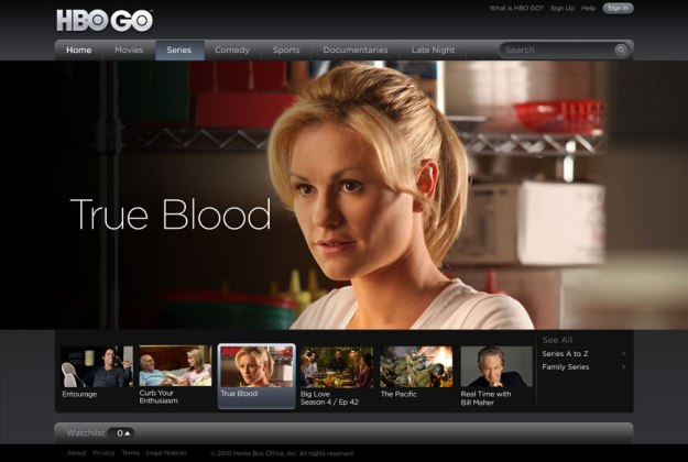 Amazon Prime Instant Video HBO Shows