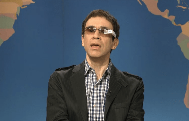 SNL Google Glass Skit