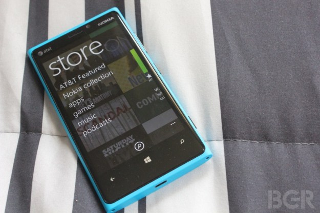 Windows Phone Store apps number