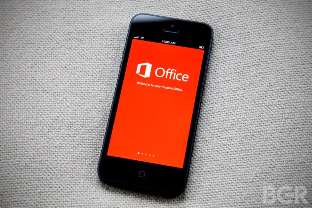 Free Microsoft Office for iPhone and Android