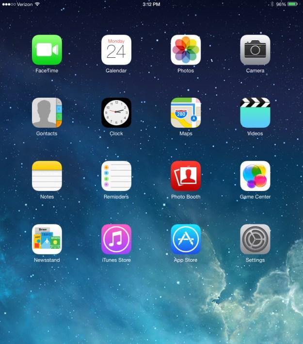 iOS 7 Beta 2 iPad Photos