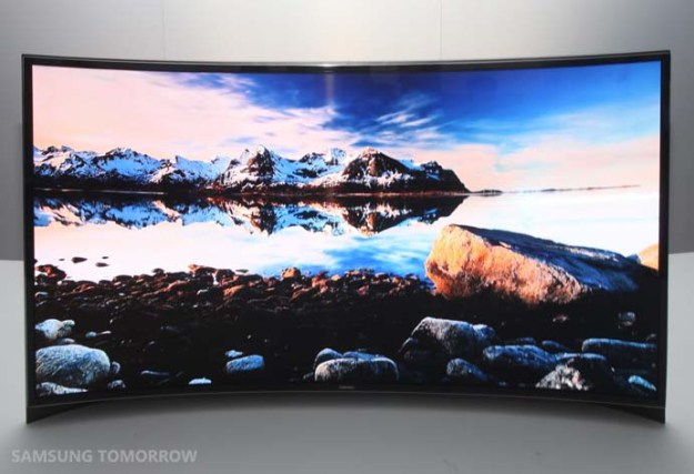 Samsung Curved OLED HDTV