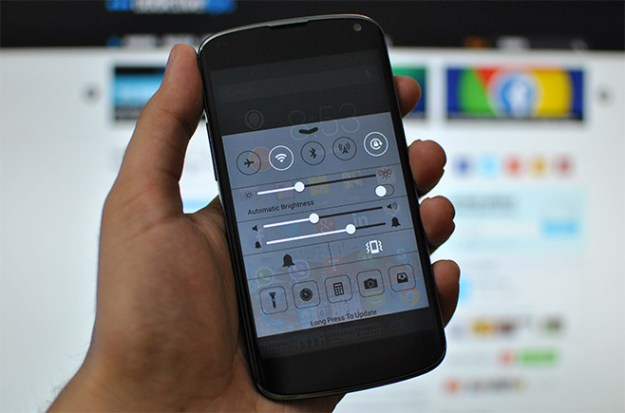 iOS 7 Control Center Android
