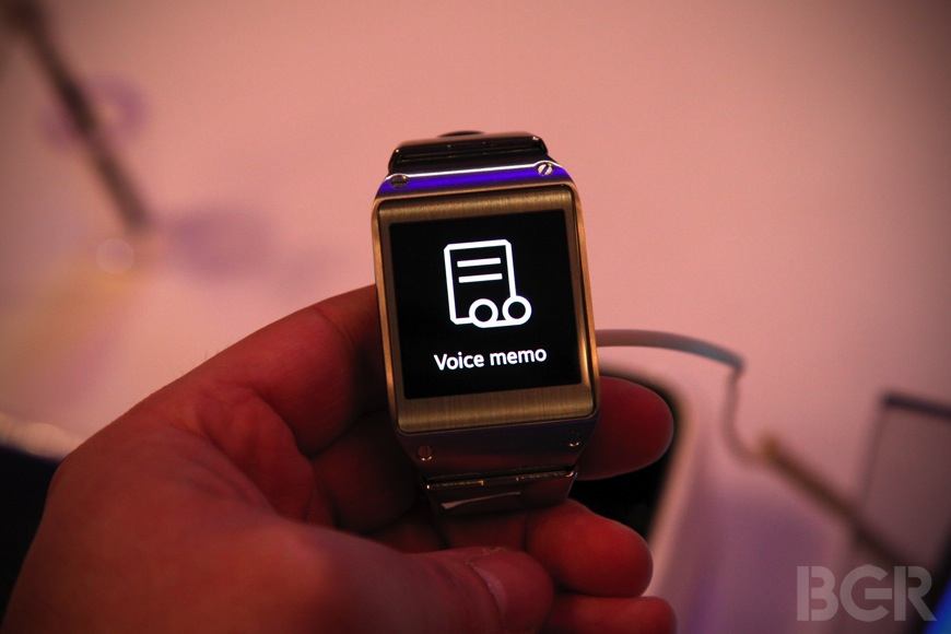 Samsung Galaxy Gear Hands-on