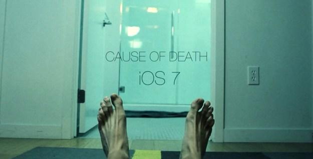 iOS 7 Cause Of Death