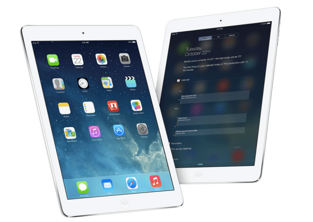 iPad Air Adoption Rate Opening Weekend