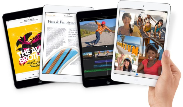 Retina iPad Mini Holiday Shopping