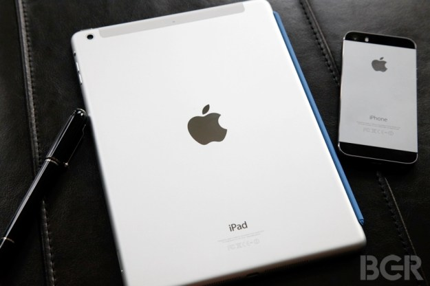 iPad 2 Specs Fingerprint Scanner