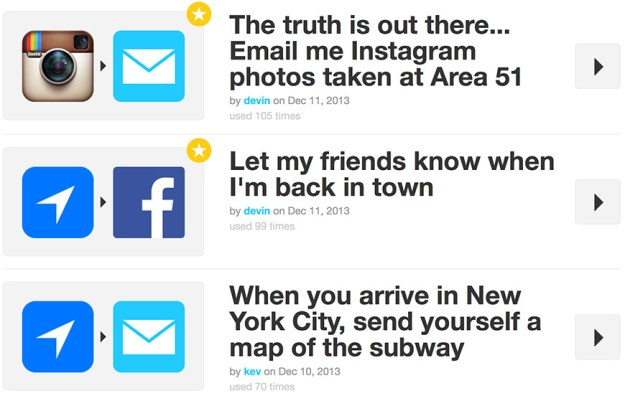 IFTTT for Android Launch