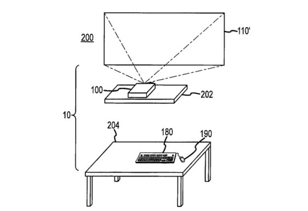 Apple TV Patent Desk-Free Computer