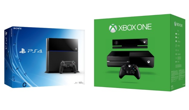 PS4 Xbox One Wii U Console War