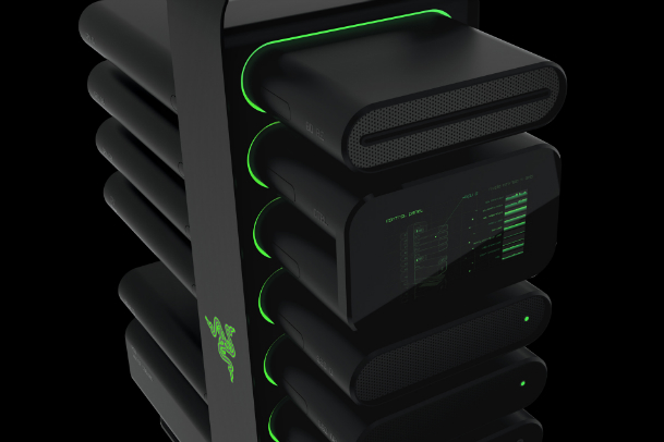Razer Project Christine Modular PC Concept