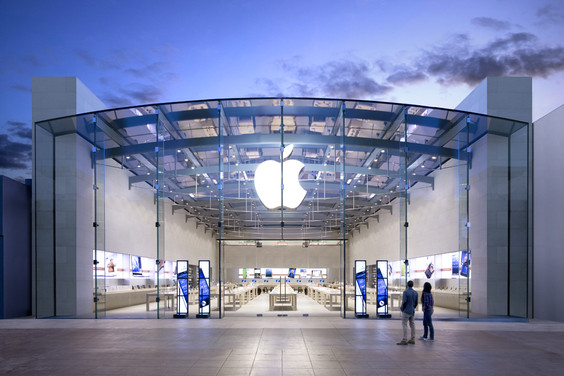 Apple retail stores smell