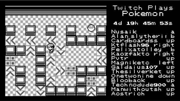 Twitch Pokemon Live Stream