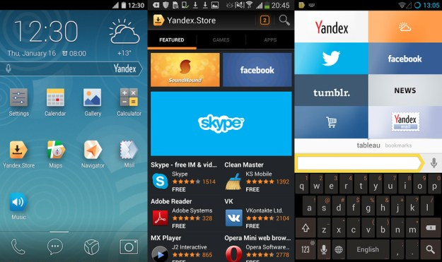 Yandex Forked Android Experience