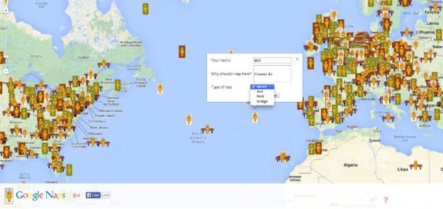 Google Naps vs Google Maps