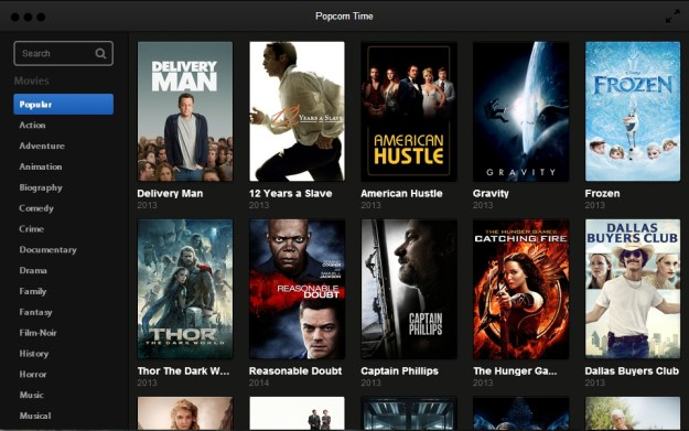 Popcorn Time Chromecast Support