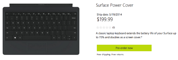 Surface Power Cover Release Date and Price