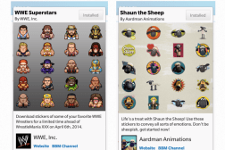 BlackBerry BBM Stickers Released