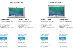 Early 2014 MacBook Air Specs