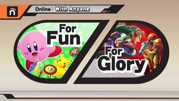 Super Smash Bros. 3DS Wii U Release