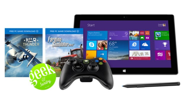 Microsoft Surface Pro 2 Xbox Geek Bundle