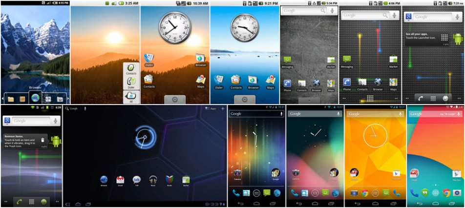 Android Visual History