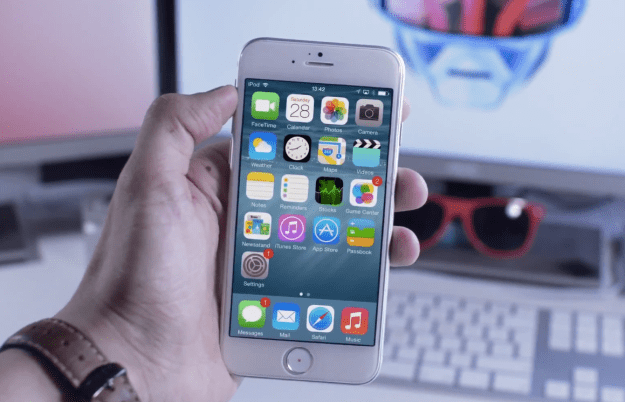 iPhone 6 iOS 8 Video