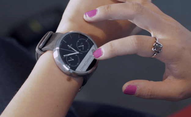 Moto 360 Specs: Ambient Light