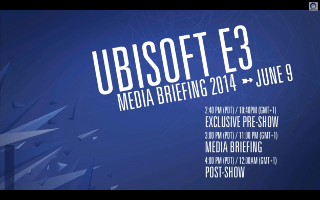 Ubisoft E3 2014 Press Conference