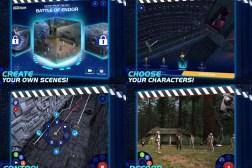Star Wars Scene Maker iPad App