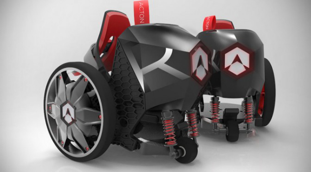 Kickstarter Acton R Rocketskates