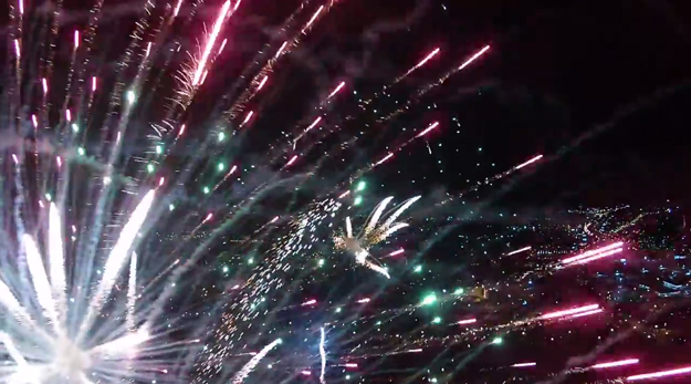 July 4 Fireworks Video