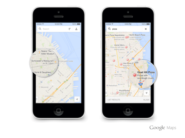 Google Maps iOS Update