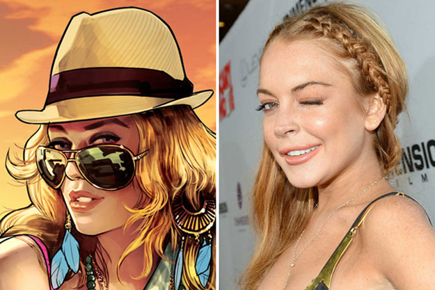 Grand Theft Auto V Lohan Lawsuit