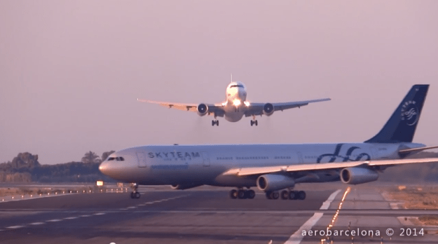 Two Planes Near Collision