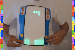 World's Stupidest Gadgets Tetris T-Shirt