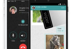 Wiper iOS and Android Messaging App