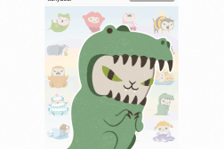 BBM Cosplay Cat Emojis