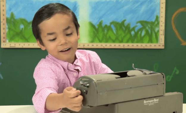 Kids React To Typewriters Video