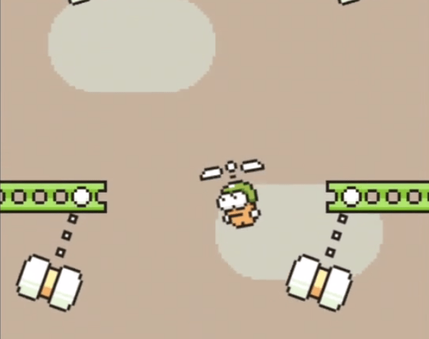 Swing Copters Gameplay Trailer